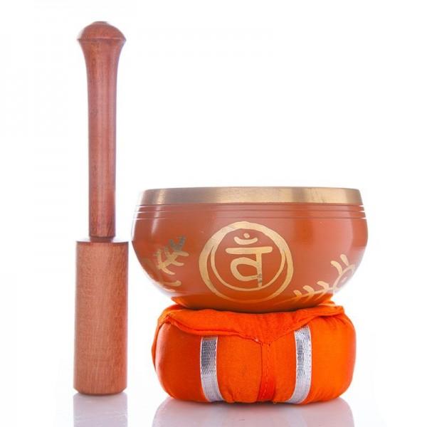 Chakra-Klangschale Orange