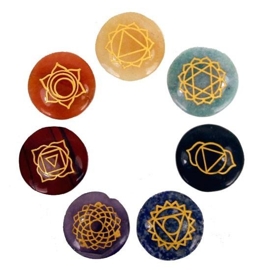 7 Chakra Steine
