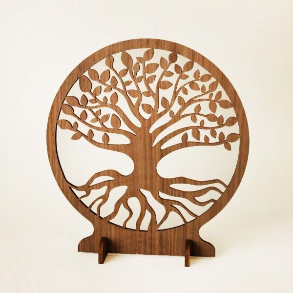 Baum des Lebens aus Holz zum Stellen