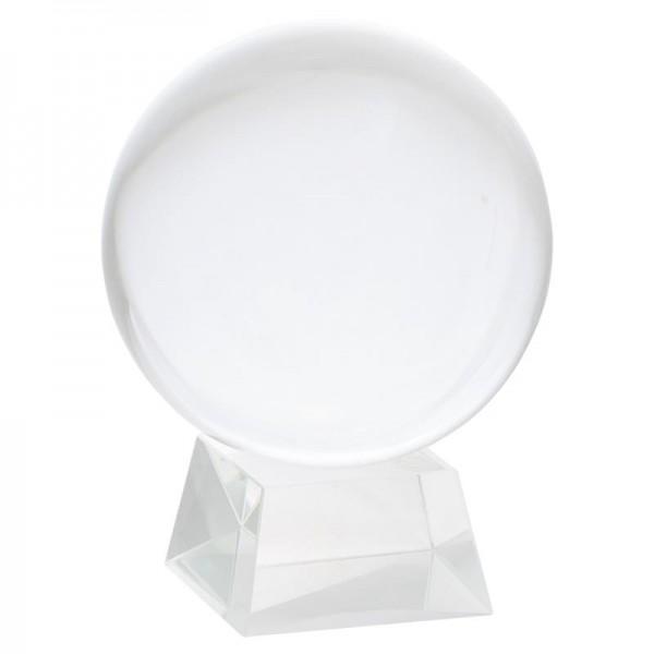 Kristallkugel mit Glasfuß