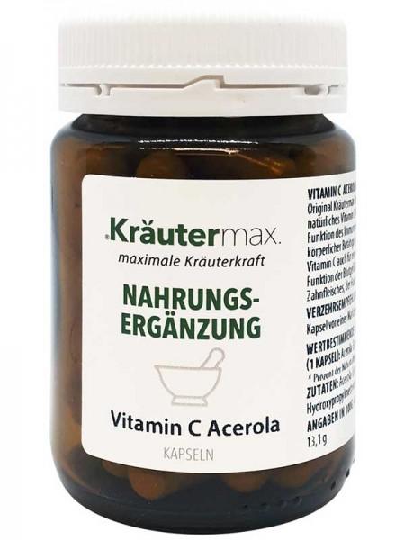 Kräutermax Vitamin C Acerola 60 Kapseln