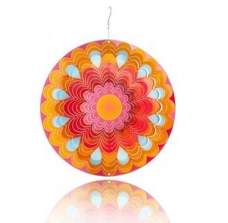 Windspiel Mandala Sonne