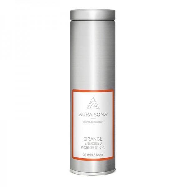 Aura-Soma® Pomander Räucherstäbchen Orange