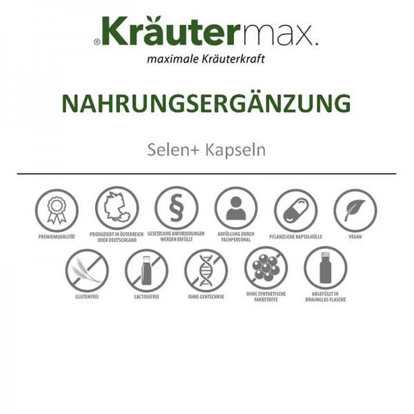 Kräutermax Kieselerde, 90 Kapsel
