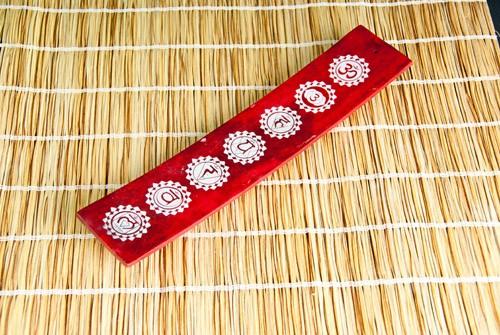 Räucherstäbchenhalter Chakra Rot