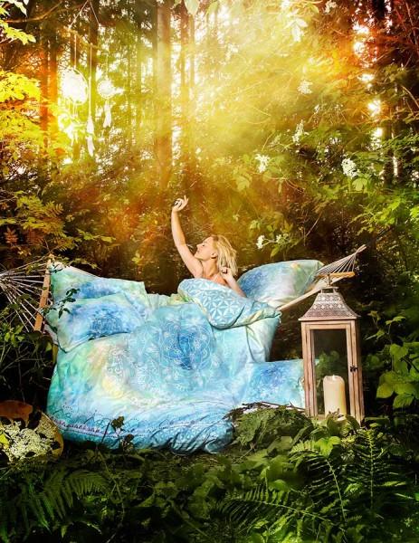Bettbezug Faszination blue dream