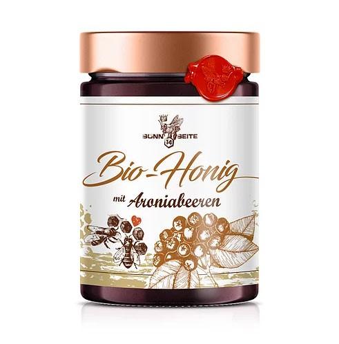 Aronia-Aufstrich mit Honig