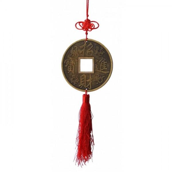 Chinesische Glücksmünze