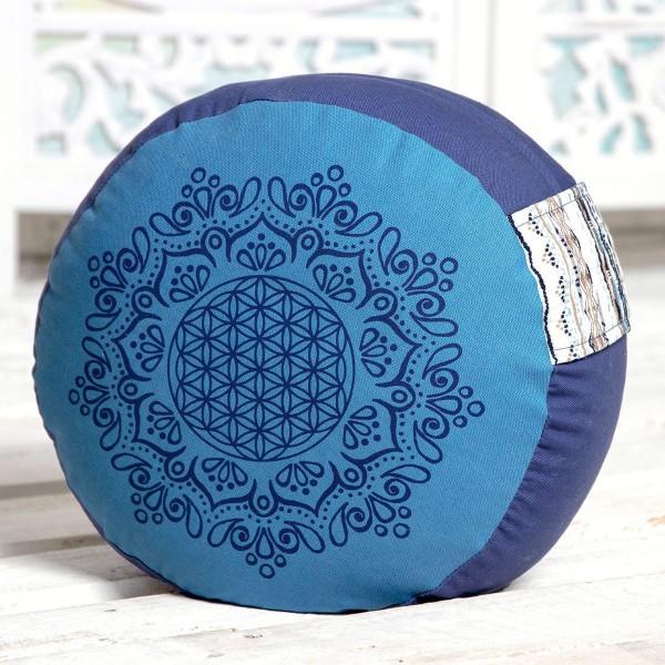 Meditationskissen azur / ozeanblau von Spirit of Om