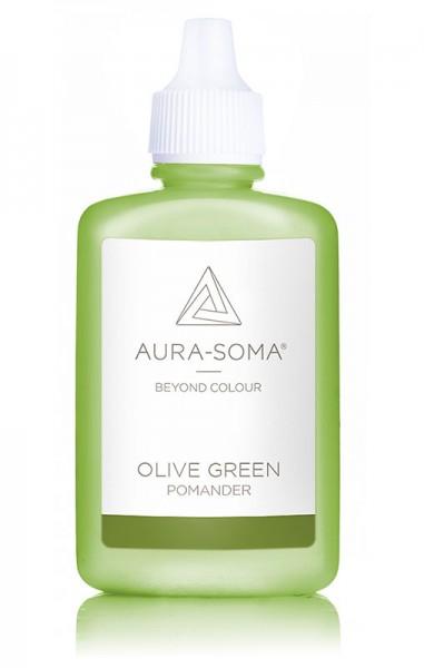 Aura-Soma® Pomander Olivgrün
