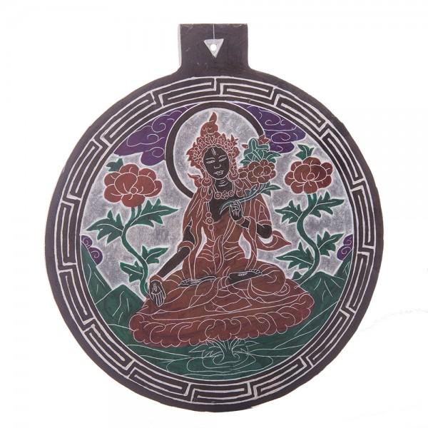 Tonschiefer Relief Weiße Tara