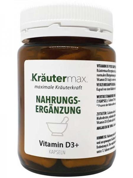 Kräutermax Vitamin D3, 60 Kapseln