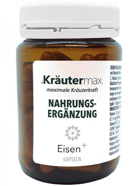 Kräutermax Eisen+, 60 Kapseln