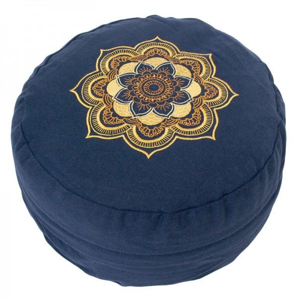 Mandala blau/gold