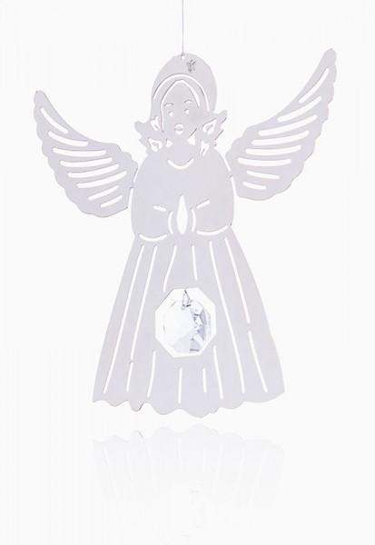 Engel-Mobile mit Swarovski Kristall aus Edelstahl