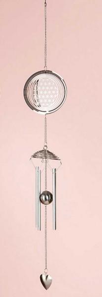 "Windspiel Ornament ""Lebensblume"""