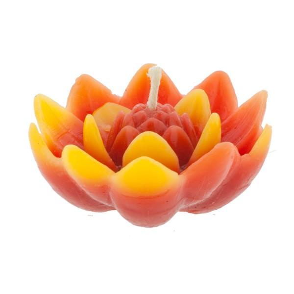 """Bienenwachsschwimmkerze """"Lotus"""""""
