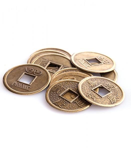 Chinesische Glücksmünzen klein