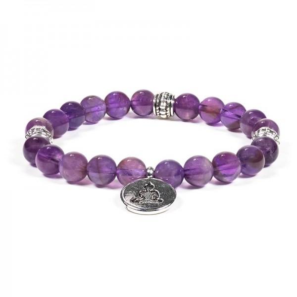 "Armband ""Buddha"" mit Amethyst"