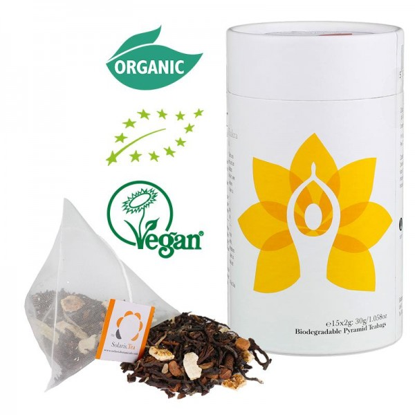 Solaris Biologischer Tee: Solarplexuschakra