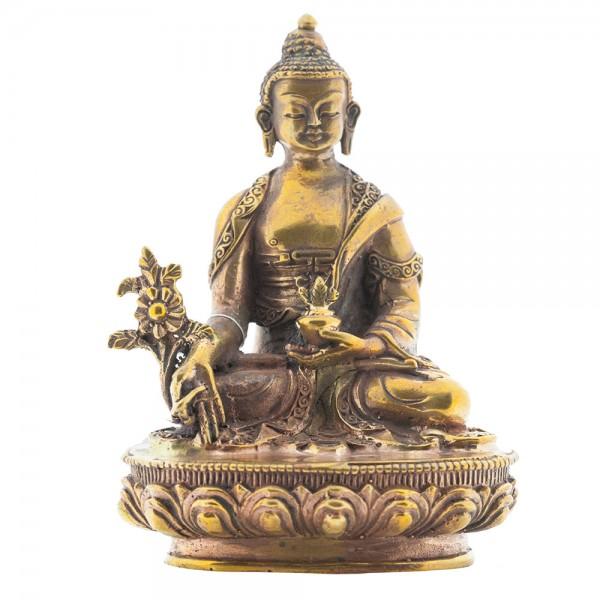 Medizin Buddha, 10 cm Kupfer