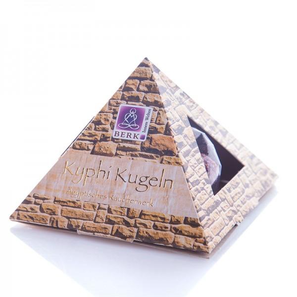 """Kyphi-Pyramide mit """"Kyphi Kugeln"""""""