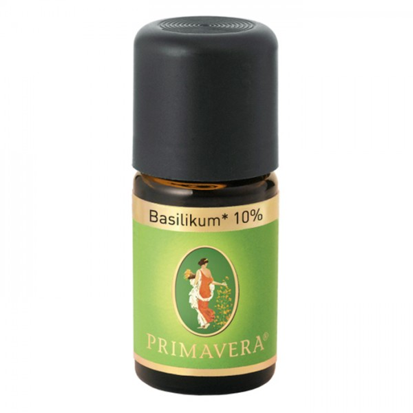 Basilikum* bio 10 % - 5ml