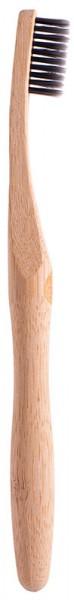 Bambus Zahnbürste mit Bambuskohle Borsten