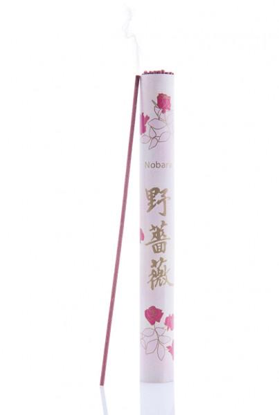 NOBARA - Wilde Rose japanische Räucherstäbchen von Kenmei Do