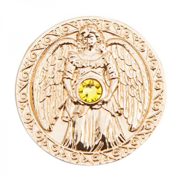 "Engel-Taler ""Reichtum"" 24 Karat vergoldet"