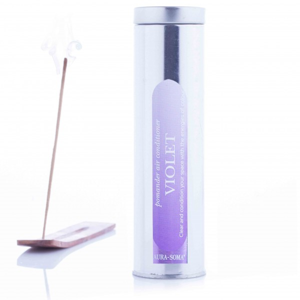 Aura-Soma® Pomander Räucherstäbchen Violett