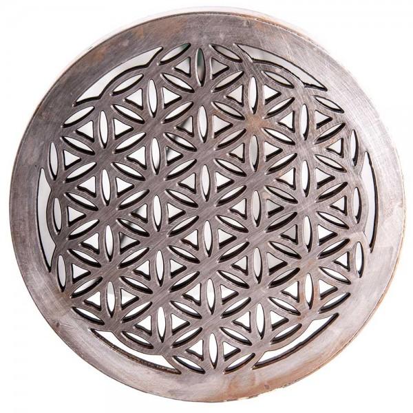 Spiegel Blume des Lebens Eisen