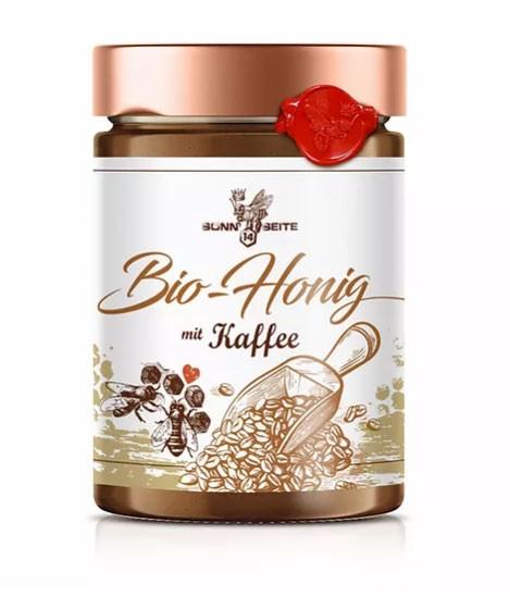 Kaffee Aufstrich mit Honig aus der Imkerei Sonnseite14