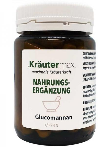 Kräutermax Glucomannan, 60 Kapsel