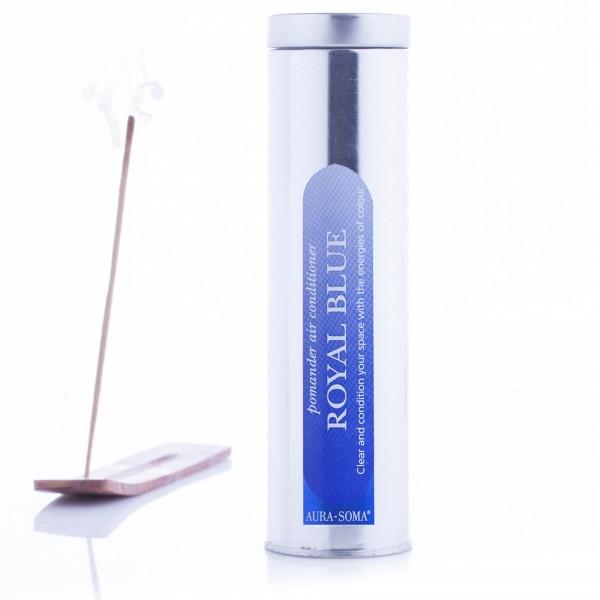 Aura-Soma® Pomander Räucherstäbchen Königsblau