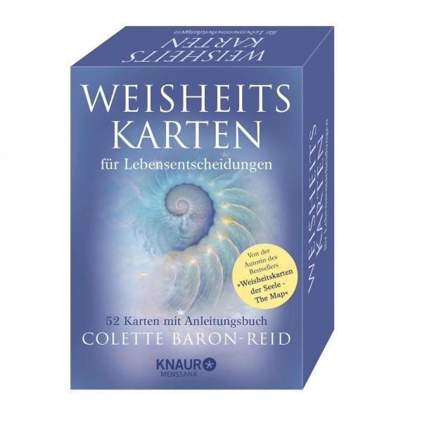 Weisheitskarten für Lebensentscheidungen - Colette Baron-Reid