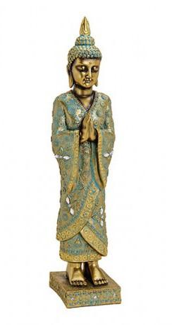 Buddha stehend auf Lotus - klein