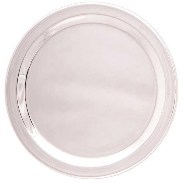 Räucherplatte aus Edelstahl 12 cm für Teelichtgefäß