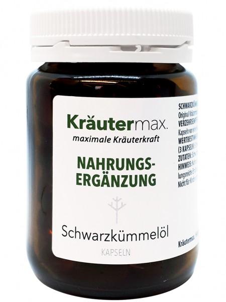 Kräutermax Schwarzkümmelöl 90 Kapseln