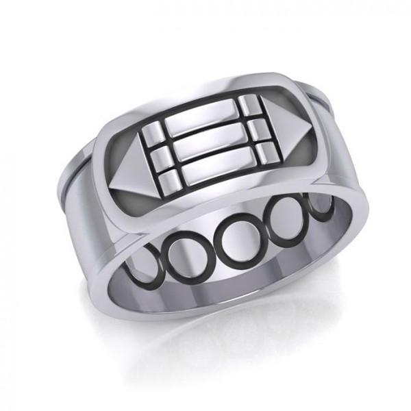 Atlantis Ring - Stearling Silber
