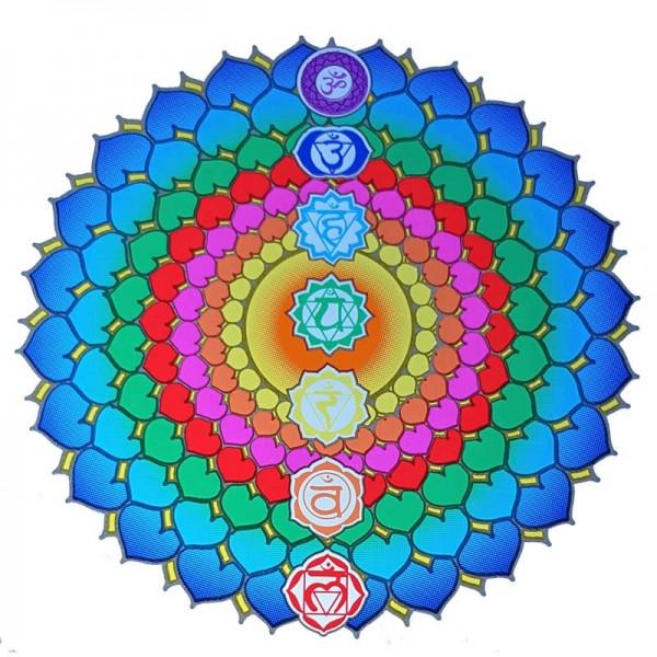 Fensterbild Healing Chakra