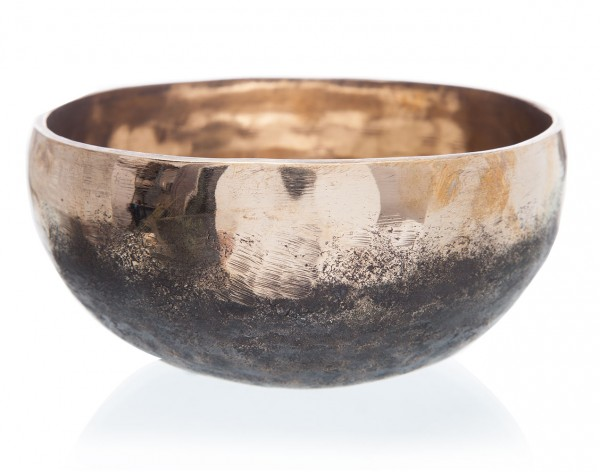 Klangschale Ishana schwarz/gold, 535 g