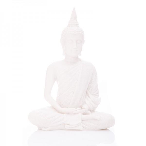 Buddha des Friedens aus Alabaster