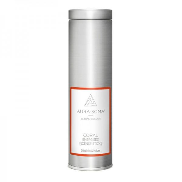 Aura-Soma® Pomander Räucherstäbchen Koralle