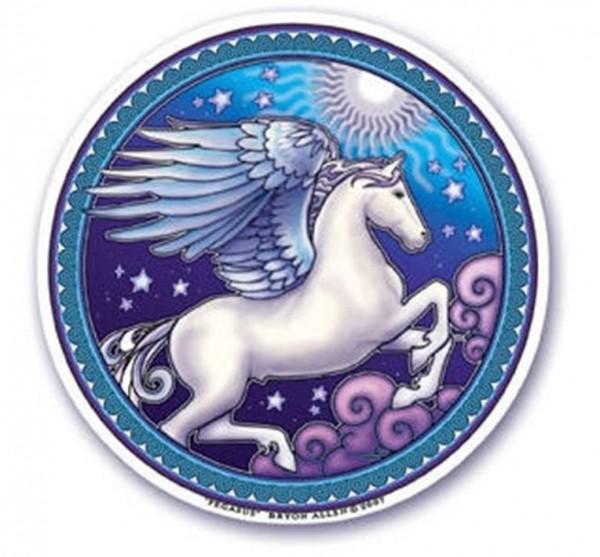 Fensterbild Dream Pegasus