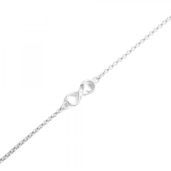 "Silber-Armband ""Infinity"" 16 + 4cm"