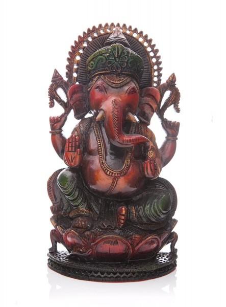 Ganesha aus Zedernhol
