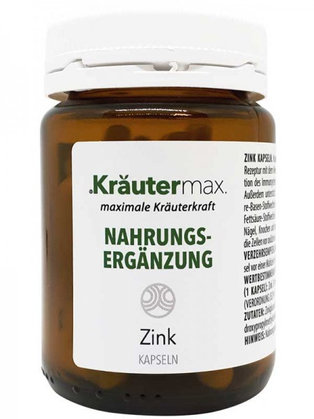 Kräutermax Zink, 60 Kapseln