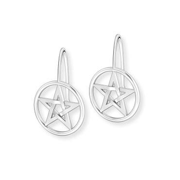 Ohrhänger Pentagram