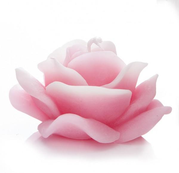 """Bienenwachskerze """"Rose"""" Rosa"""